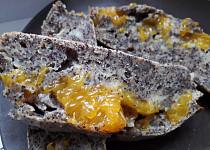 Makovo-mandarinkovy koláč
