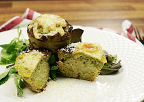 Brokolicové muffiny