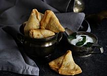 Samosa - indická plněná taštička