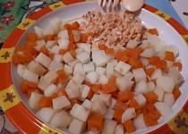 Bramborový salát  - pro nejmenší