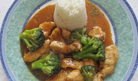 Čína s brokolicí