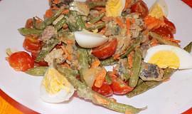 Fazolkovo-rybičkový salát