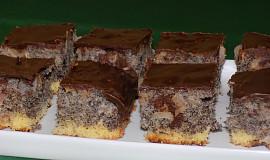 Jablečno-makový koláč