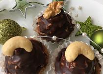 Ořechové košíčky s čokoládou