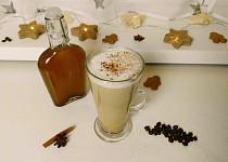 Vánoční perníčkový sirup do kávy