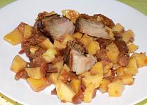 Aargauské brambory se sušenými jablky