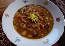 Bramborová polévka s pohankou