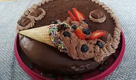 Čokoládový dort (snadný)