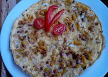 Selská omeleta se zelím