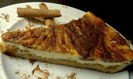 Tvarohovo-skořicový koláč