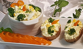 Brokolicovo-vaječná pomazánka
