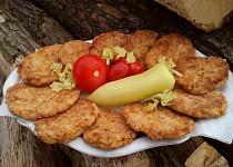 Celerovo-sýrové placičky s Lučinou