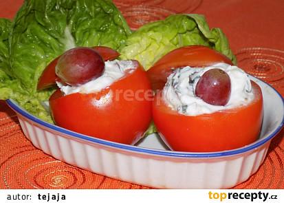 Rajčata plněná brynzou