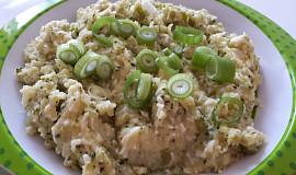 Bramborová kaše s brokolicí a vajíčkem - pro nejmenší