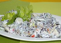 Salát z červené rýže