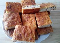 Bramborovo - slaninový koláč