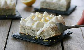 Citronový koláč s mákem bez vážení