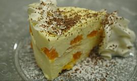 Lehký tvarohový dortík