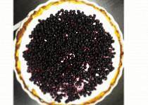 Low carb borůvkový koláč