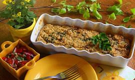 Nákyp z quinoy se semínky, kadeřávkem a sušenými rajčaty
