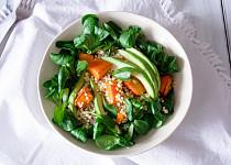 Salát s pečenou dýní a tarhoňou