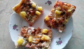 Slaný koláč à la pizza