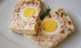 Vaječná tlačenka plněná celými vejci