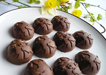 Velikonoční čokoládové pralinky