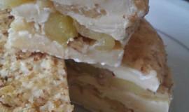 Hermelín plněný jablky a ořechy
