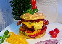 Můj domácí burger