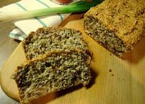 Ořechový chleba bez mouky