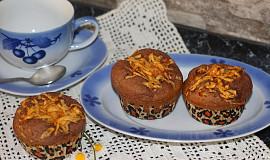 Perníkové muffiny s jablečným středem