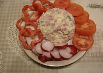 Rychlý salát se šunkou