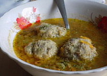 Vaječno-žampionové knedlíčky do polévky