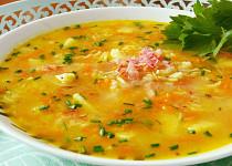Zeleninová polévka s rýži