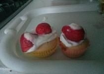 Cupcake vanilkové