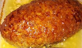 Domácí pečená sekaná z mletého masa