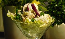 Kuřecí salát s domácí tatarkou