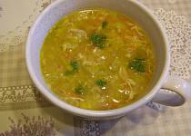 Maminkovská pórková polévka