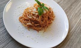 Naše doma oblíbené špagety