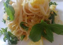 Citronové špagety