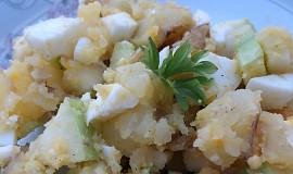 Dietní bramborový salát s jablkem