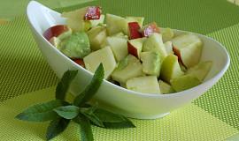 Jablečno-avokádový salát