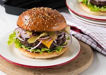 Burgery z hovězího mletého masa