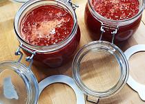 Domácí jahodový džem