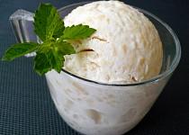 Jablečno-jogurtová zmrzlina