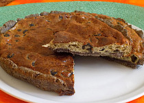 Olivový koláč s makovou moukou