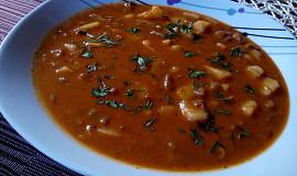 Gulášová polévka z hlívy ústřičné