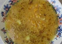 Jemná hrášková polévka