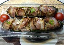 Zapékané cukety se slaninou